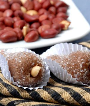 Cajuzinho: Brazilian Peanut Candy