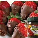 Chocolate dip detail