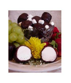 Heggy's Dark Chocolate Covered Marshmallows