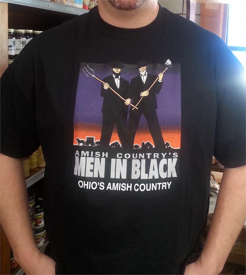 Amish Country's Men In Black T Shirt – Shislers Cheese House