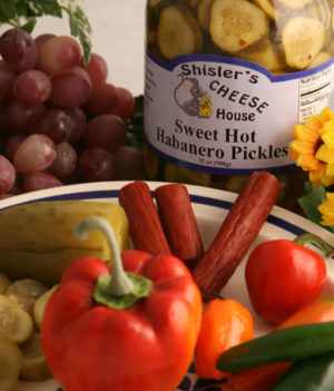 Shisler's Sweet Hot Habanero Pickles