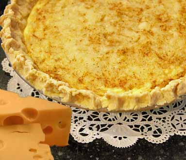 Swiss Cheese Pie