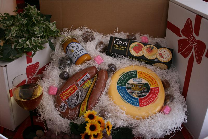 Baby Swiss Cheese and Troyers Trail Bologna Gift Box