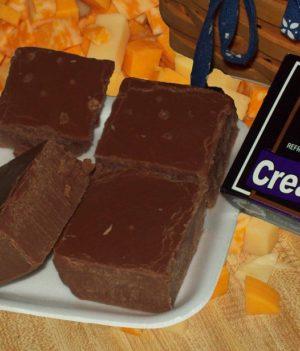 chocolate cheese