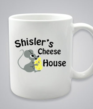 Shisler cheese house mug