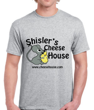 Shisler cheese house t-shirt